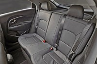 2012 Kia Rio 5-Door rear seats
