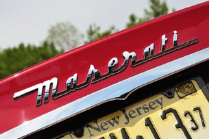 2012 Maserati GranTurismo Convertible Sport badge