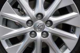2012 Toyota Prius Plug-In wheel detail