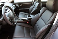 2012 Acura TL SH-AWD front seats
