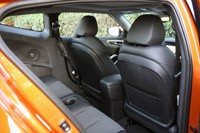2012 Hyundai Veloster rear seats