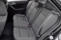 2011 Kia Forte 5-Door rear seats