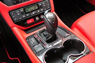 2012 Maserati GranTurismo MC shifter