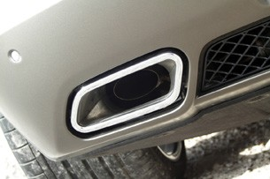2012 Mercedes-Benz SLS AMG Roadster exhaust tip