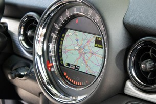 2012 Mini Cooper Coupe navigation system