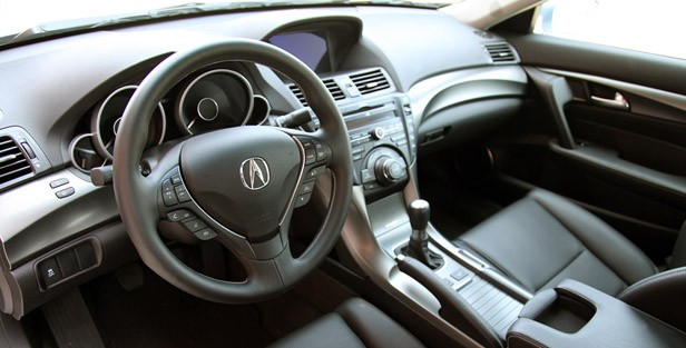 2012 Acura TL SH-AWD interior