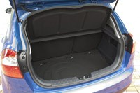 2012 Kia Rio 5-Door rear cargo area