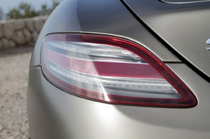 2012 Mercedes-Benz SLS AMG Roadster taillight