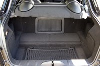 2012 Mini Cooper Coupe rear cargo area