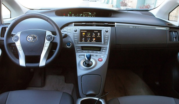 2012 Toyota Prius Plug-In interior