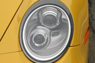2011 Porsche 911 GTS headlight