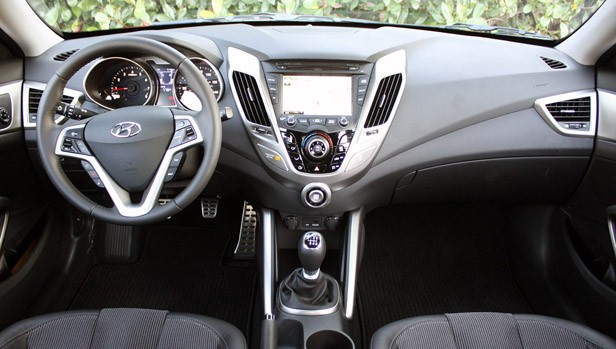 2012 Hyundai Veloster interior