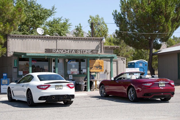 2012 Maserati GranTurismo MC and GranTurismo Convertible Sport