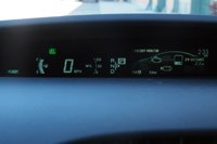 2012 Toyota Prius Plug-In energy monitor display