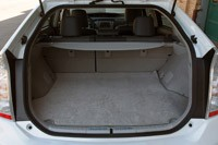 2012 Toyota Prius Plug-In rear cargo area
