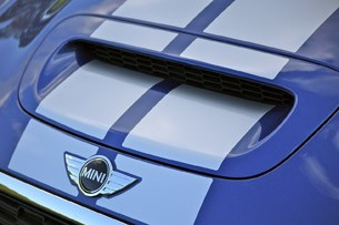 2012 Mini Cooper Coupe hood scoop