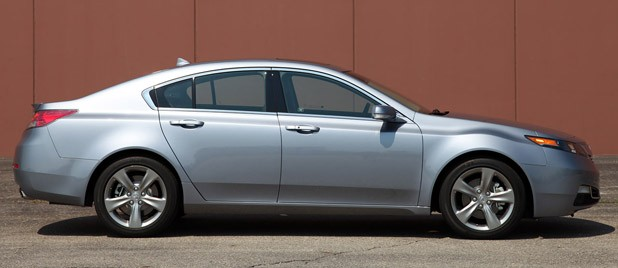 2012 Acura TL SH-AWD side view
