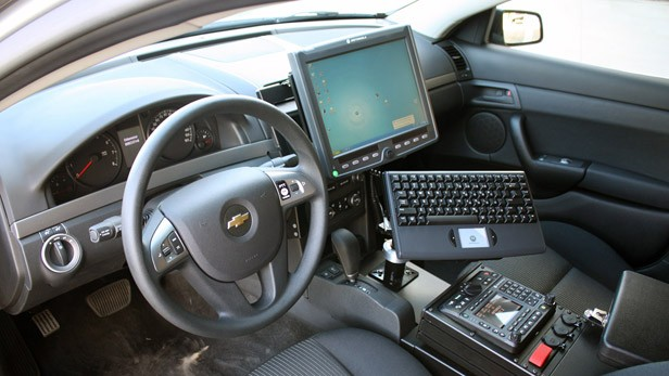 2012 Chevrolet Caprice PPV interior