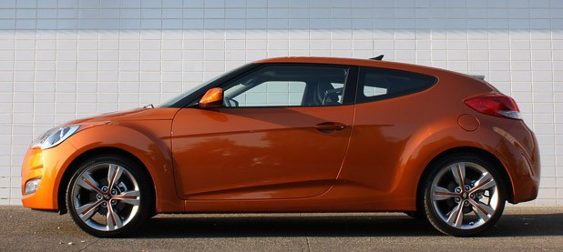 2012 Hyundai Veloster side view