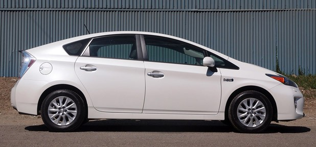2012 Toyota Prius Plug-In side view