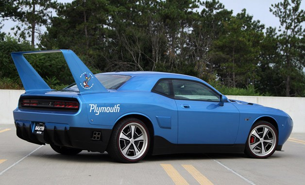 HPP Richard Petty Superbird rear 3/4 view