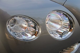 2012 Bentley Continental GTC headlight