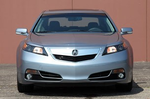 2012 Acura TL SH-AWD front view