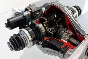 2012 BMW M5 differential