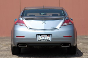 2012 Acura TL SH-AWD rear view