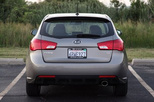 2011 Kia Forte 5-Door rear view