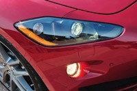 2012 Maserati GranTurismo Convertible Sport headlight