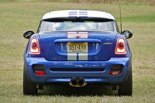 2012 Mini Cooper Coupe rear view