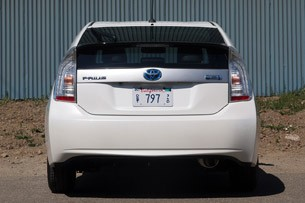 2012 Toyota Prius Plug-In rear view