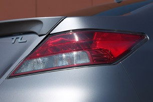 2012 Acura TL SH-AWD taillights