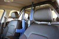2012 Chevrolet Caprice PPV front seats