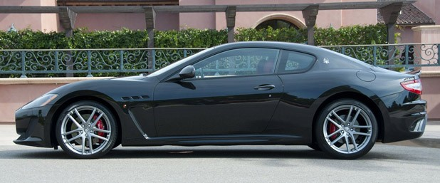 2012 Maserati GranTurismo MC side view