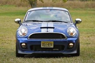 2012 Mini Cooper Coupe front view