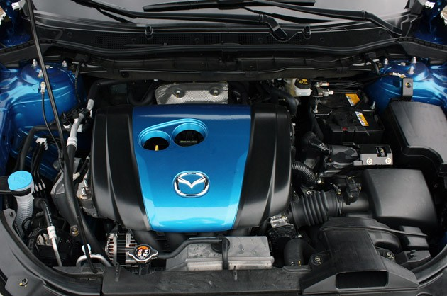 2013 Mazda CX-5 engine