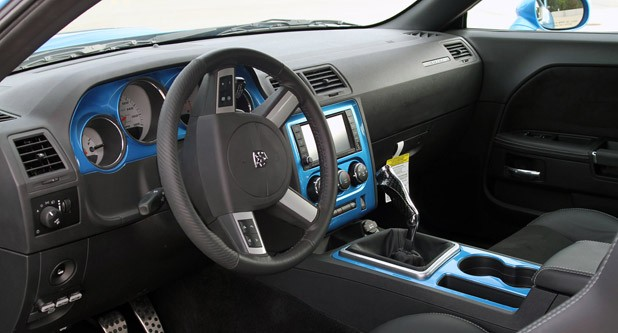 HPP Richard Petty Superbird interior