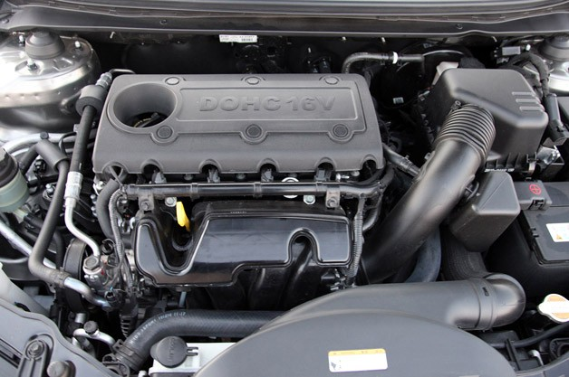 2011 Kia Forte 5-Door engine