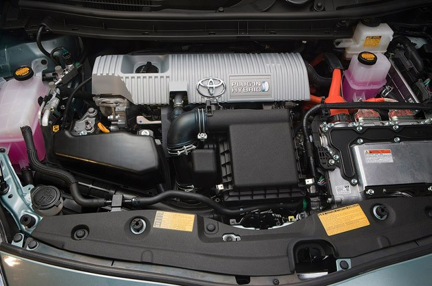 2012 Toyota Prius Plug-In engine