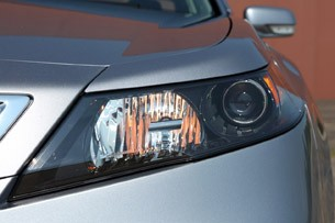 2012 Acura TL SH-AWD headlight