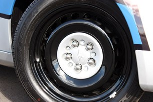 2012 Chevrolet Caprice PPV wheel