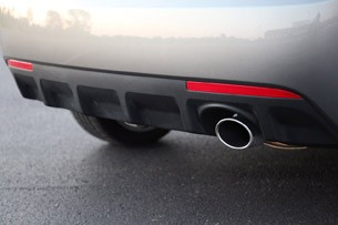 2011 Kia Forte 5-Door rear fascia