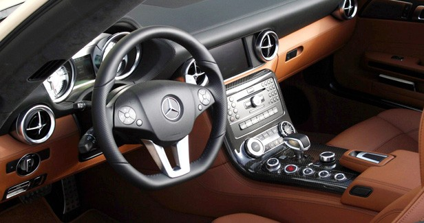 2012 Mercedes-Benz SLS AMG Roadster interior