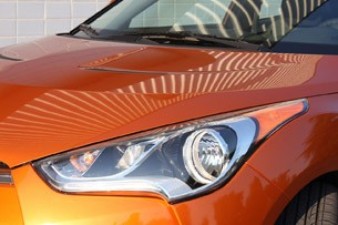 2012 Hyundai Veloster headlight