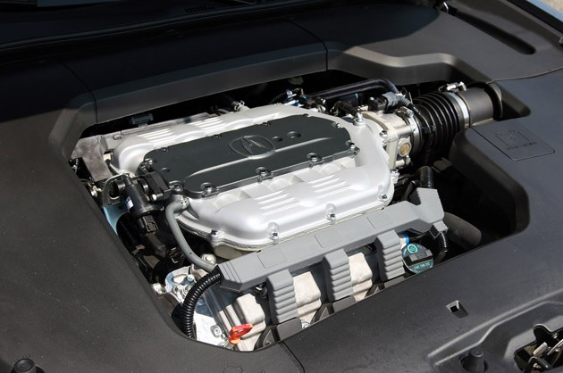 2012 Acura TL SH-AWD engine