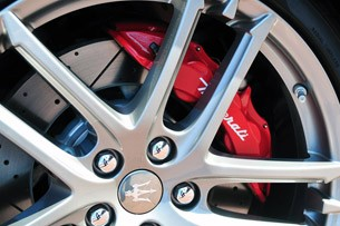 2012 Maserati GranTurismo Convertible Sport wheel