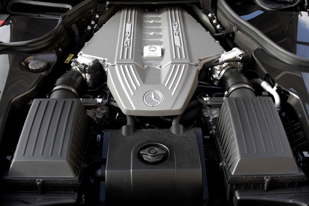 2012 Mercedes-Benz SLS AMG Roadster engine