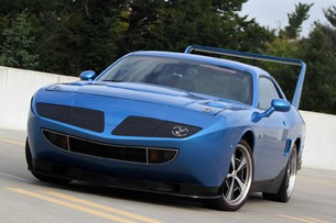 HPP Richard Petty Superbird front 3/4 view
